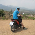 Thailand - Riding near Pai